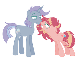 Crackship:Sunny Pop and Rocky Magic by theponygaming