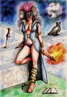 Hecate, ancient goddess by thehoundofulster