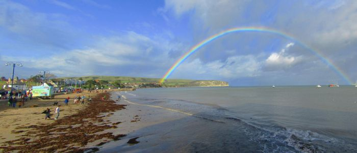 Swanage Rainbow by Cotterill23