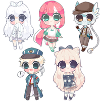 Crayon Chibi Batch 3 by Shirouu-kun