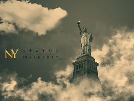 NY - Statue OF Liberty by SALAM-SOL