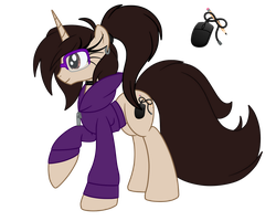 OC Ref: Revekka the Unicorn by SilverRomance