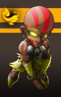 2905 Dhalsim by Spoon02