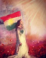 the sun will shine from kurdistan by Delawer-Omar