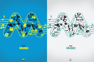 M FOR MUSIC by Waterboy1992
