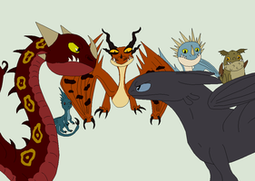 HTTYD Base 130~Dragon Mix 9~ by Xbox-DS-Gameboy