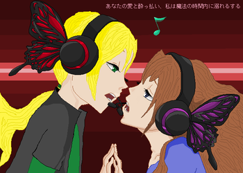 Magnet +Eve and Julian+ by sanjis-bride