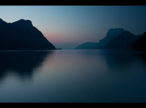 Traunsee Sunset by Lisa-M-T