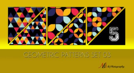 Geometric Patterns Set 03 by noema-13