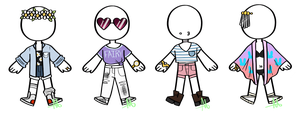 CLOSED-Outfit Adopts 1 by SpaceReame