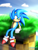 Relax (Sonic The Hedgehog) by 1HardDan1
