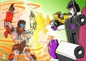 Defensor VS. Menasor by JP-V