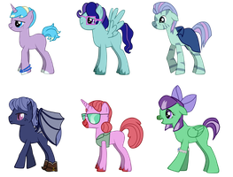 Free Pone Adopts! (CLOSED) by JuniorAdopts