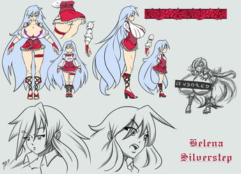 Character Sheet: Helena Silverstep By N647 by Draconis-Glade