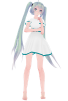 TDA Nameless miku DL by mikesmmdhouse