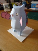 Catbug papercraft (with gloves) by MrQqn