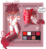 [closed] - auction Cocacola dragodrink by ku-roki