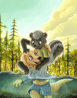 Lanny and Ben by pandapaco