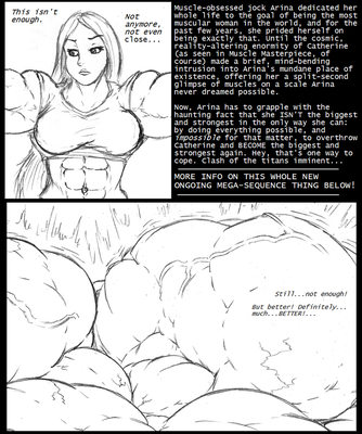 Muscle Masterpiece II, starting now on Patreon! by Saxxon