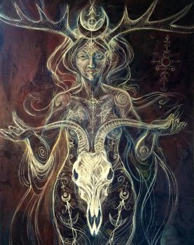 Queen of the Sabbat by meddevi