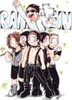 AT: Rammstein -Colored- by Melody-Of-Truth