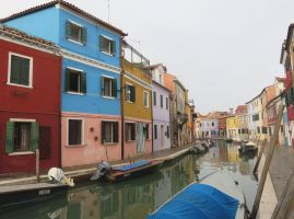 Burano Canals by ShipperTrish