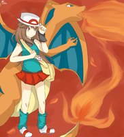 Pokemon FireRed by missing-fortunediver