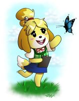 Isabelle by digitallyfanged