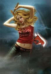 Buffy The Vampire Slayer by Eireen