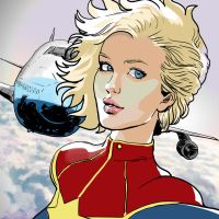 Captain Marvel by ExecutiveOrder9066
