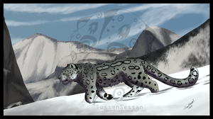 .:Snow Leopard:. by TussenSessan