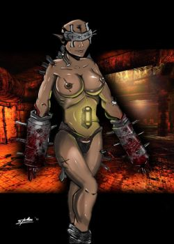 Female Fleshpound by Tempestus1