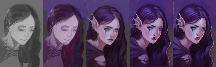 Abyssians race - process by chirun