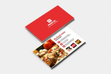 Restaurant Presentation Card by Rudakzmm