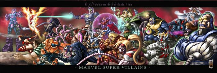 SUPER VILLAINS by earache-J