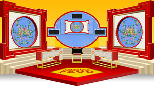 Family Feud set - 1988 by wheelgenius
