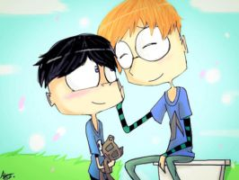 Alex and Todd by MoonlightWolf17