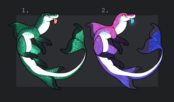 Squishy Seapups! [2/2] [OPEN] [AUCTION] by TheAdoptArtist