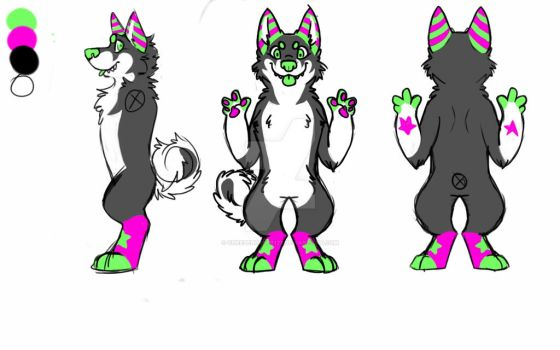 Paxie Paxie Paxie ref by Cheezeburger123