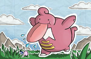 Lickilicky- Shining Forest art by nintendo-jr