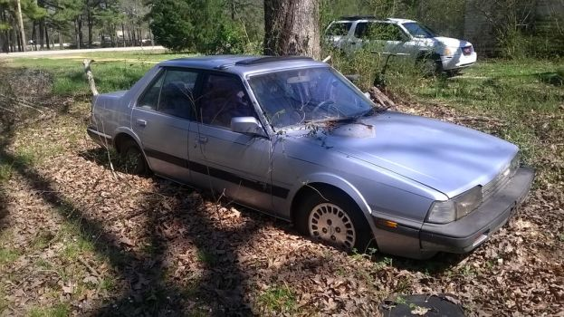 1 - 1985 Mazda 626 - Project Brony Mobile by hunterN05