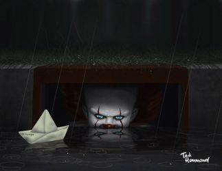 We all float down here... by ted1air
