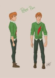 Modern Day: Peter Pan by MargaHG