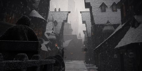 Diagon Alley, Old Winter by Raelsatu