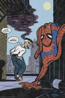 Spider-Jonah No More! by RachelOrdwayArt