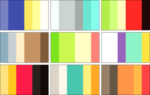 color palettes 5 by RRRAI