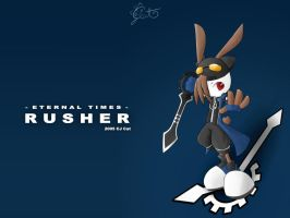 Rusher Clockblade wallpaper by cjcat2266