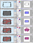 Colour in the Lines Tutorial - Photoshop and Sai by Kuro-Creations