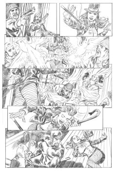 Zatanna pg 2 pencils by deankotz