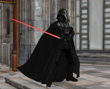 Lord Vader by huzy